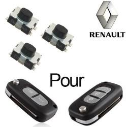 2 X Switchs pour télécommande Clio 3, Kangoo 3, Modus, Trafic, Master