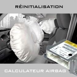 Réinitialisation calculateur airbag 208