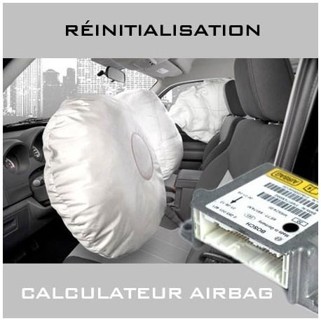 Réinitialisation calculateur airbag Audi Q7