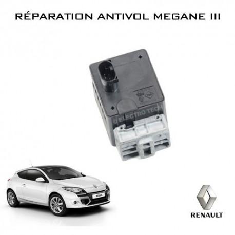 Réparation antivol électrique Mégane 3