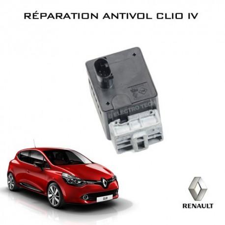 Réparation antivol électrique Clio 4