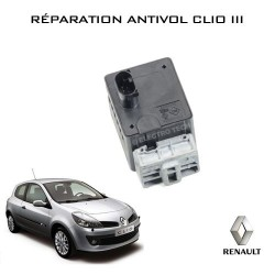 Réparation antivol électrique Clio 3