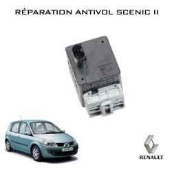 Réparation antivol électrique Scenic 2