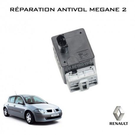 Réparation antivol électrique Megane 2