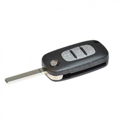 Réparation clé Renault Clio 3, Kangoo 3, Modus, Trafic, Master