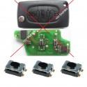 3 X Switchs pour télécommande Citroen