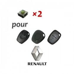 2 X Switch pour télécommande Renault