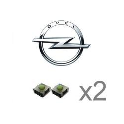 2 X Switch pour télécommande Opel Vivaro, Movano