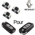 3 X Switchs pour télécommande Renault