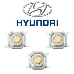 3 X Switchs pour télécommande Hyundai