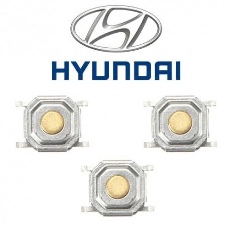 3 X Switchs pour télécommande Hyundai, Santa Fe, Accent, Tucson, Elantra
