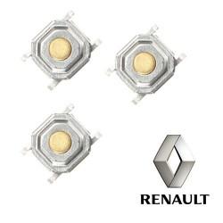 3 X Switchs pour télécommande carte Renault (Original)