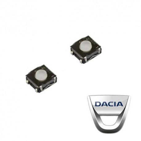 2 X Switch pour télécommande Dacia Logan, Sandero, Duster