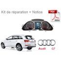 Kit de réparation compteur Audi Q7