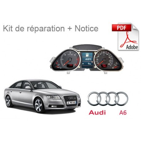 Kit de réparation compteur Audi Audi A6 C6