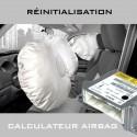 Renault Forfait réinitialisation calculateur airbag