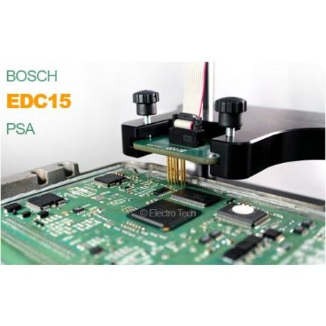 Duplication calculateur Bosch EDC15 PSA, VAG, Renault