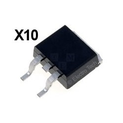 10 × Transistor IRF3710S