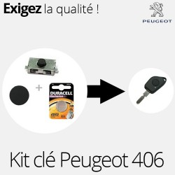 Kit de réparation clé Peugeot 406
