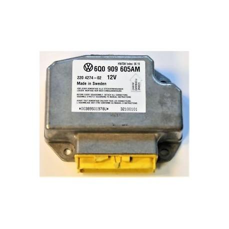 Forfait réparation calculateur airbag 6Q0909605AM