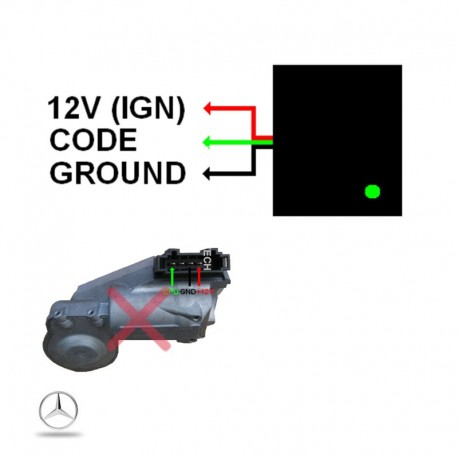elv verrou de colonne Mercedes vito w639