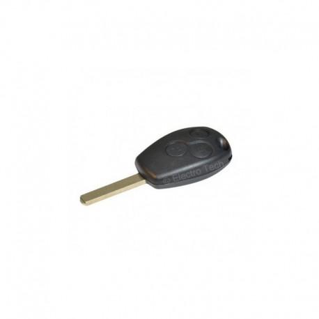 Double clé Dacia Logan Sandero Duster avec télécommande