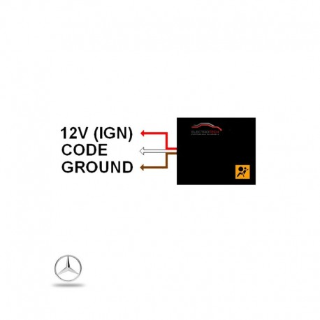 Solution voyant airbag allumé Classe A W168 C W202 E W210