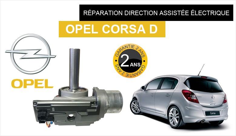 Direction assistée électrique (DAE) Opel Corsa D
